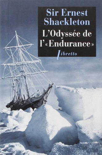 Livre L'Odyssée de L'Endurance d'Ernest Shackleton
