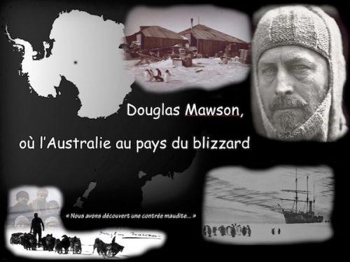Conférence Douglas Mawson où l'Australie au pays du blizzard