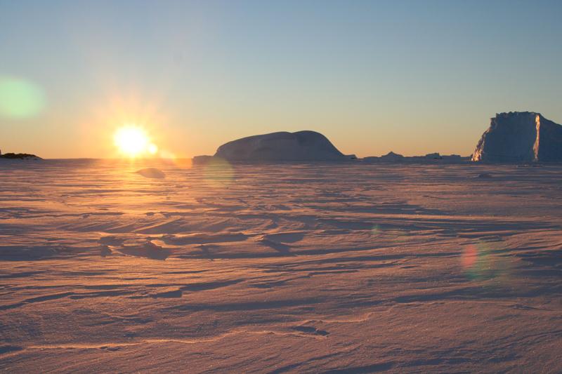 Banquise et icebergs