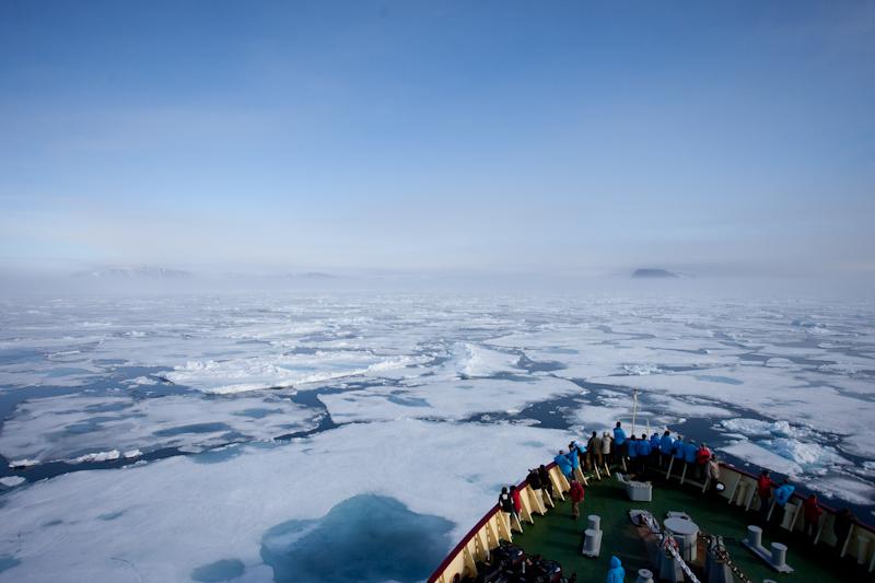 Dans les glaces à 80° nord