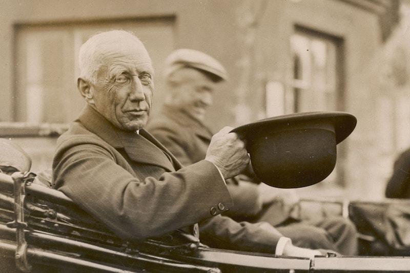 Roald Amundsen à Paris le 16 juin 1928
