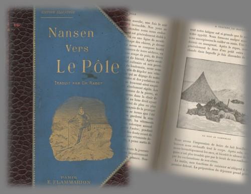 """Livre de Nansen """"Vers le Pôle"""""""