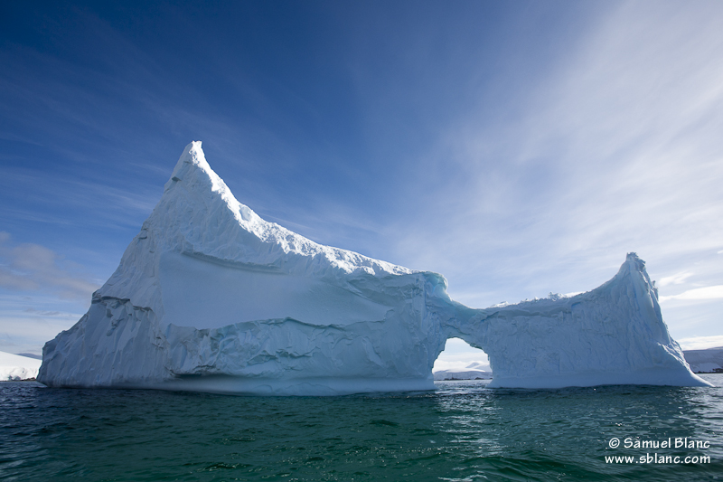 Iceberg en Antarctique
