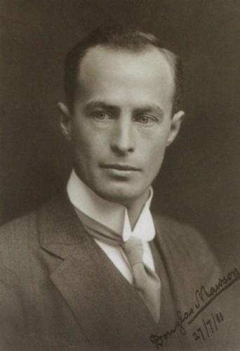 Douglas Mawson à Londres en 1911