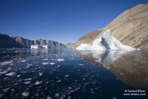 Fjord de Scoresby au Groenland