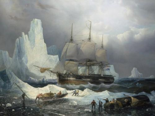 Le navire Erebus