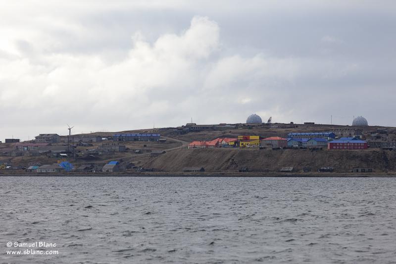 Le village de Nikol'skoye sur l'île Béring