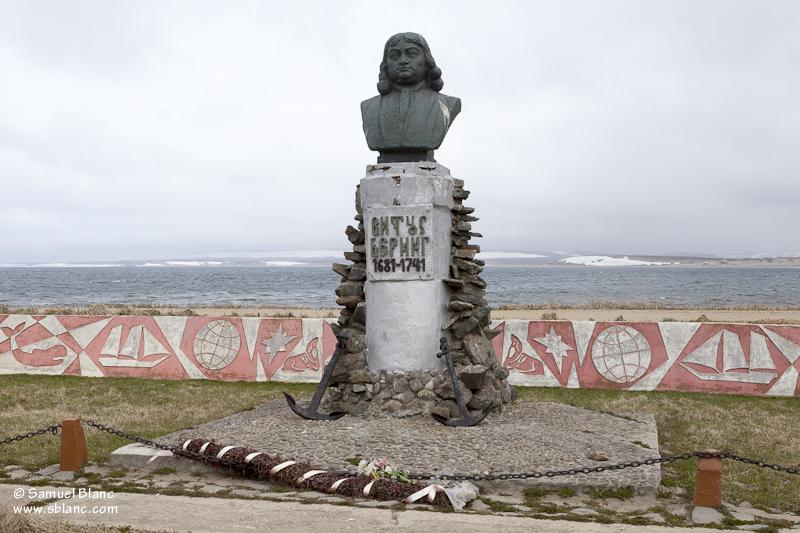 Monument en hommage à Vitus Béring