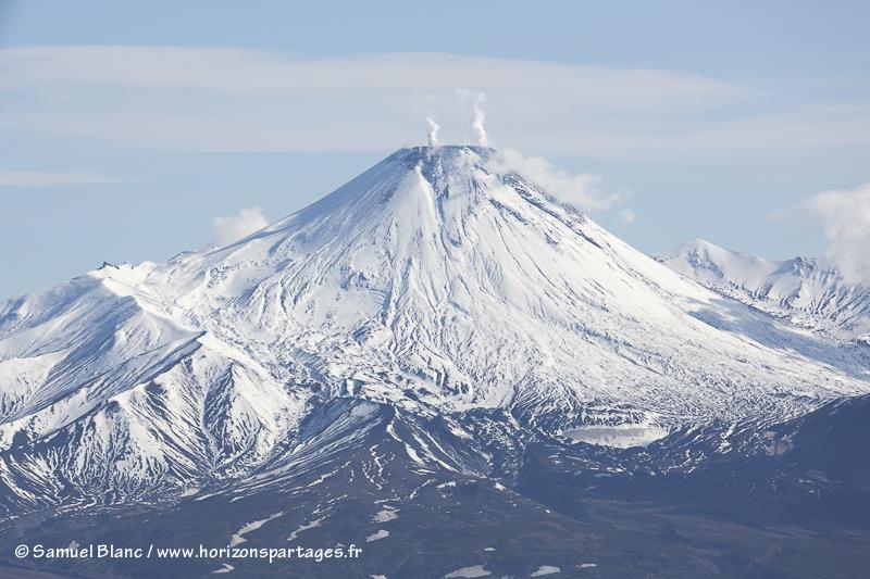 Volcan Avachinsky au Kamtchatka