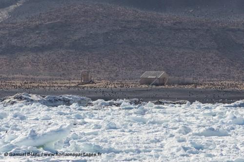 Cabane du premier hivernage sur le continent Antarctique