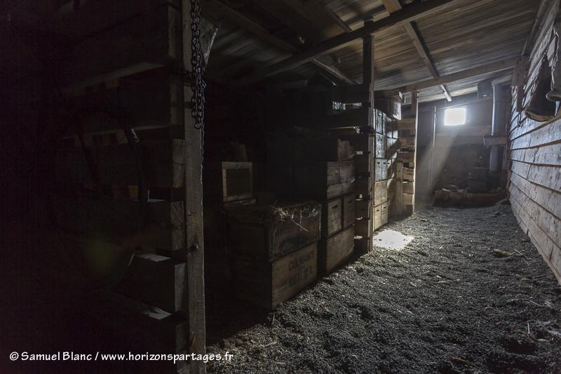 Cabane de Robert Falcon Scott au cap Evans