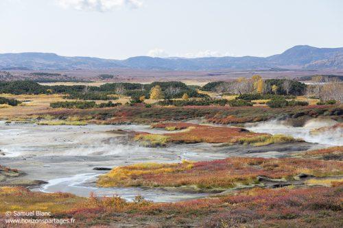 Caldeira au Kamtchatka