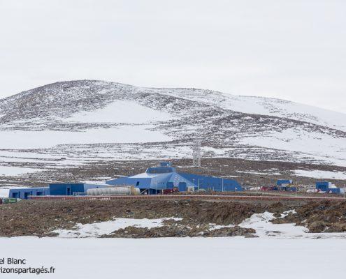 Base Jang Bogo en Antarctique